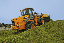 Clamping grass silage